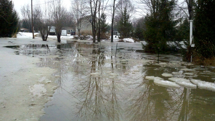 Flooding in Lorain County