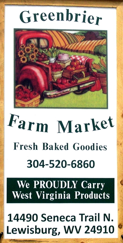 Greenbrier Farm Market for fresh basked goods
