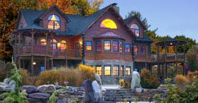 Maine Log Homes Three Major Flavors In Houlton Maine Area
