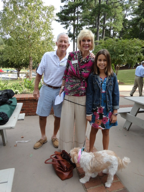 Blessing of the animals at Lake Oconee