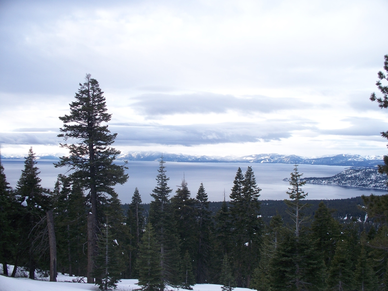 Lake Tahoe, NV from Mt. Rose highway