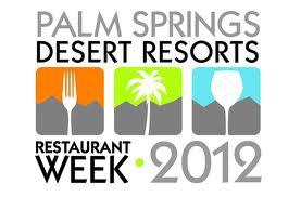 palm springs restaurant week 2012