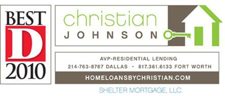 lending christian johnson shelter mortgage