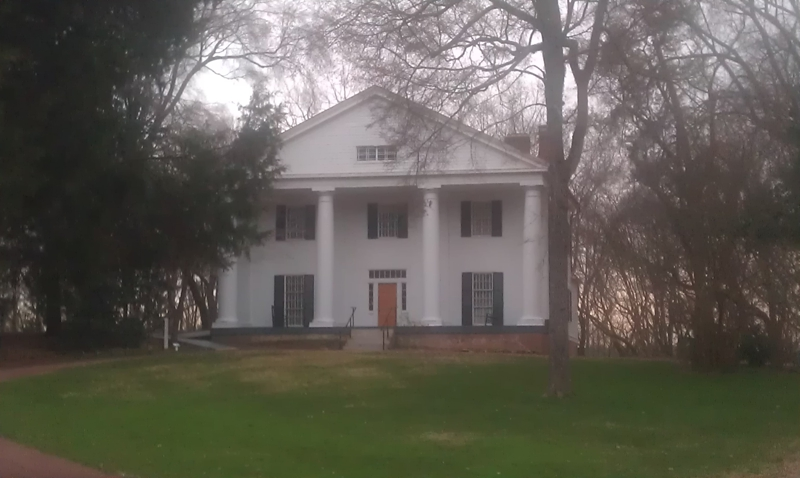 Historic Bulloch House in Roswell Ga (c)