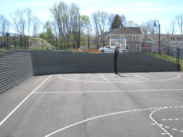 Hidden Creek basketball courts