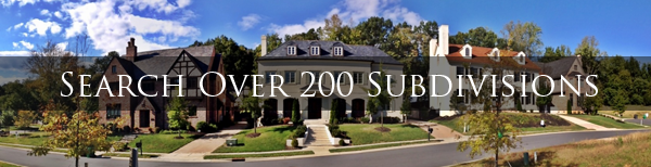 Search over 200 Luxury Communities around Charlotte