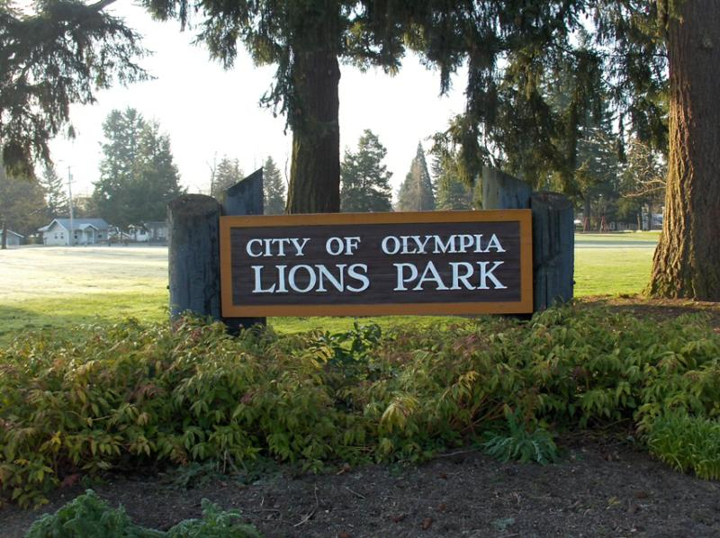 Lions Park in Olympia WA