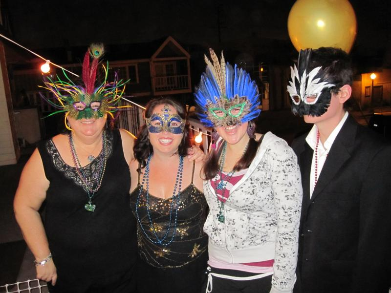 Mardi Gras Party Newport Beach At Your Service Catering