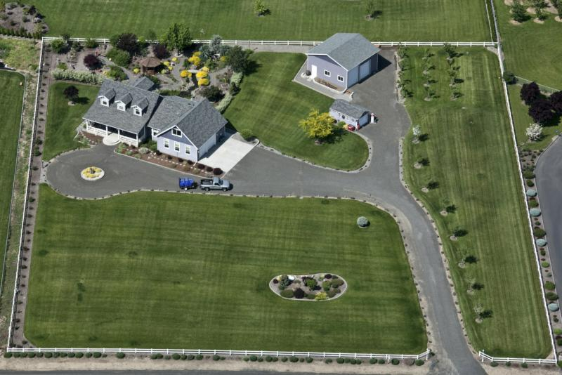 Aerial View of 2 Acre Parcel
