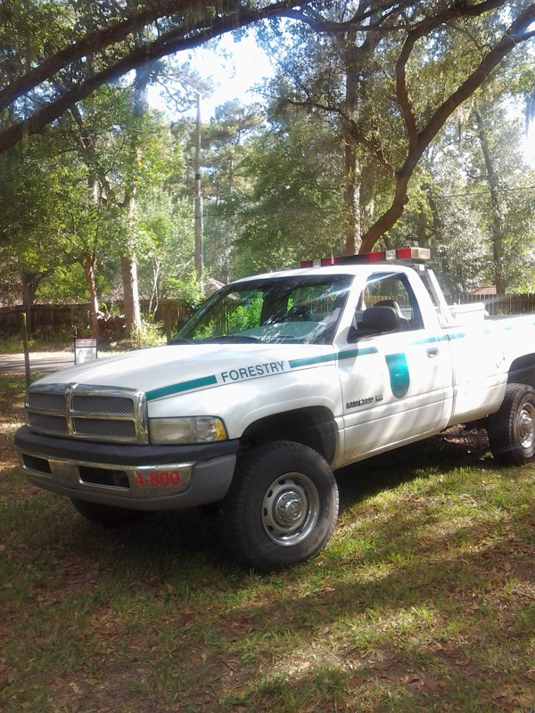Florida Division of Forestry Pickup Truck