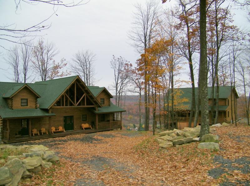 deep creek lake log home for sale