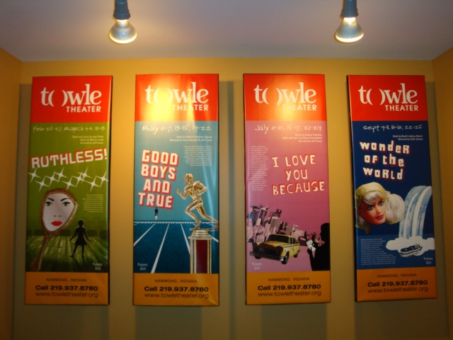 Season Tickety for Towle Theatre  in Hammond, IN 2011 include 4 plays