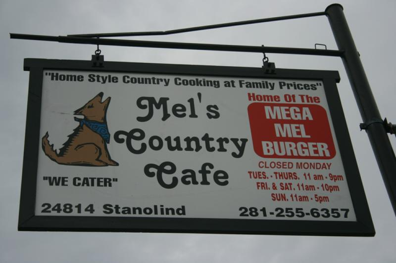 Mel\'s Country Cafe in Tomball TX!!