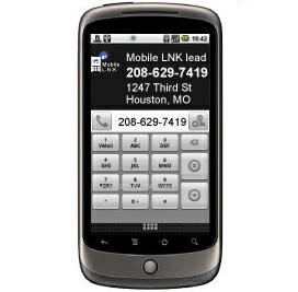 This is a MobileLNK sms (text) lead