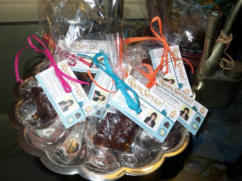 Home-made brownies and a Spa Gift Card. . . PART II