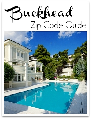 Buckhead Zip Code Map.Guide To Buckhead Atlanta Zip Codes