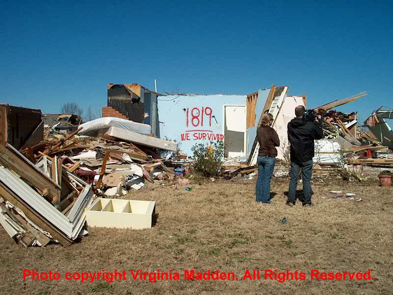 Photo 3 of Damage from Prattville Tornado 02/17/08