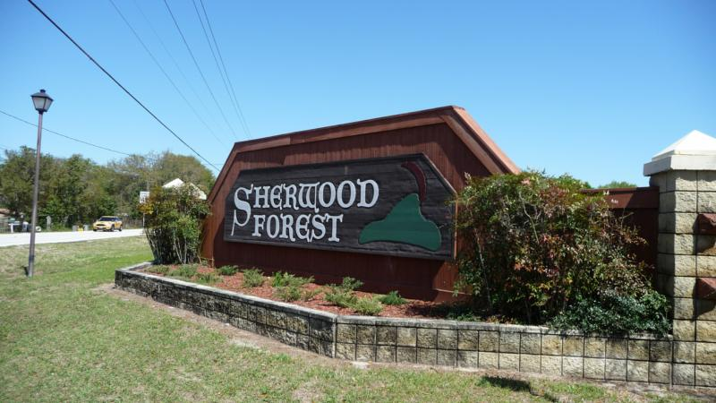 Sherwood Forest Lakeland FL