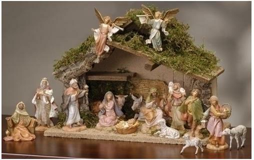 - Decorate In Tuscan Style With Christmas Nativity Scenes