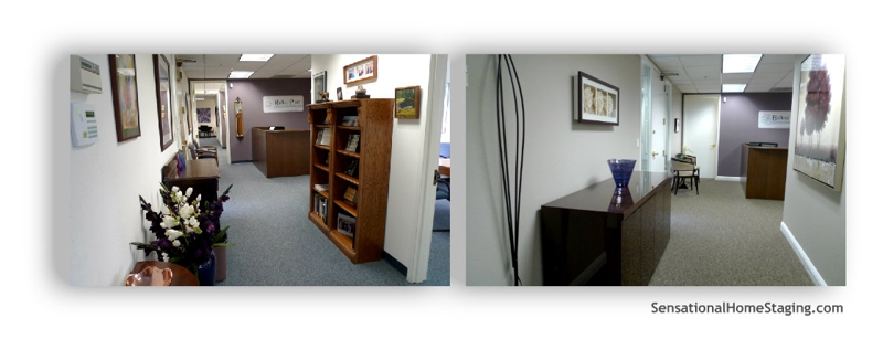 Reception Area ~ Before & After