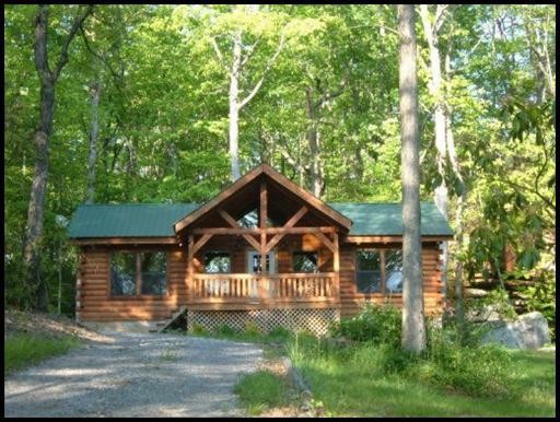 Log Cabin Homes And Rentals In Cumberland Cove Crossville