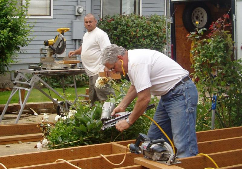 General contractor bellingham wa mark palmer for Being your own general contractor