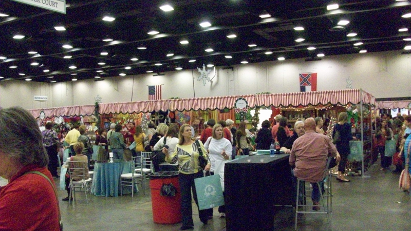 Mistletoe Marketplace circa 2009