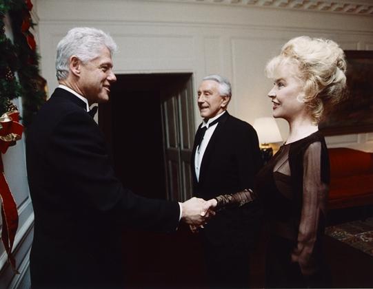 Pres Bill Clinton & Betty Weider