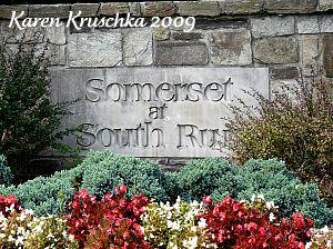 Somerset at South Run sign by Karen Kruschka