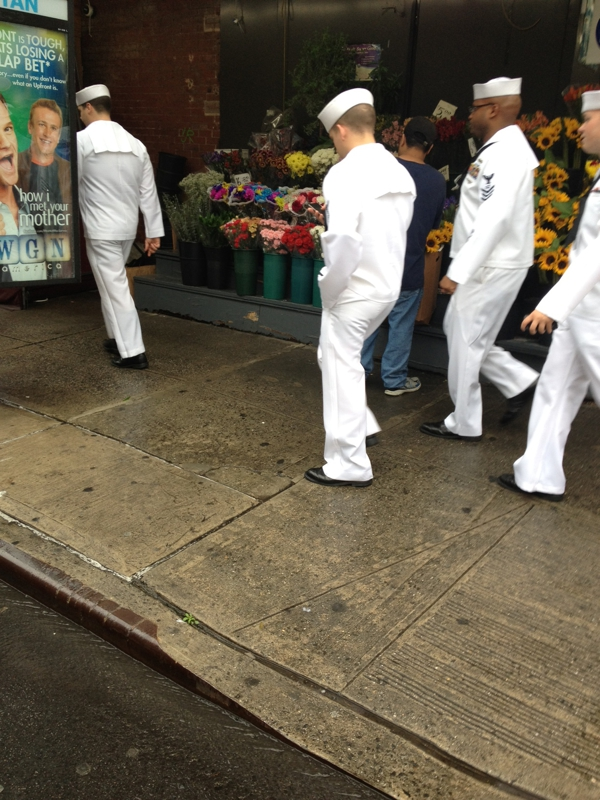 Sailors on 9th Ave