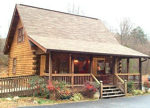 Living in a Log Cabin in the Mountains of Murphy North Carolina