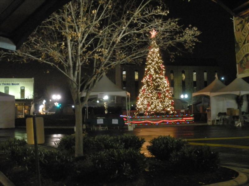 wordless wednesday franklin tns christmas tree - Tennessee Christmas