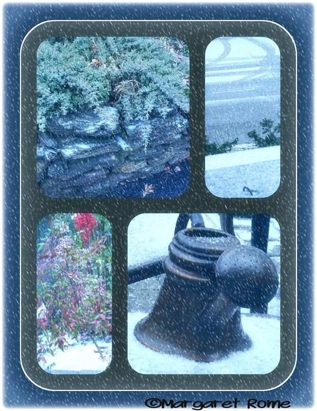 Baltimore Light Snow