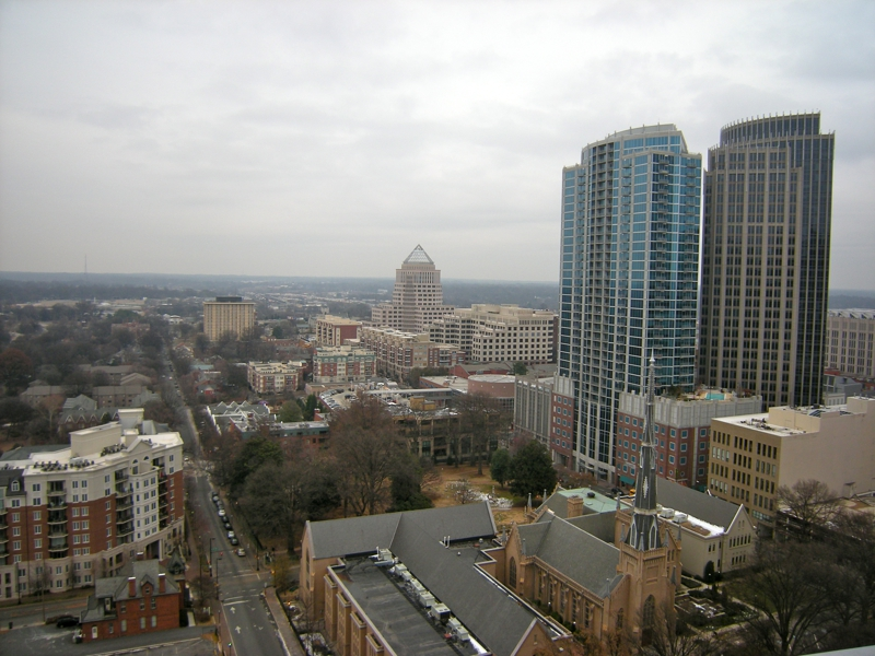Uptown charlotte nc condos and townhomes for sale third ward for Ward builders nc