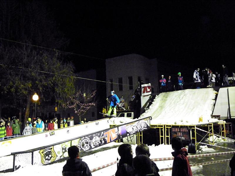 Rail Jam at Sandpoint Winter Carnival