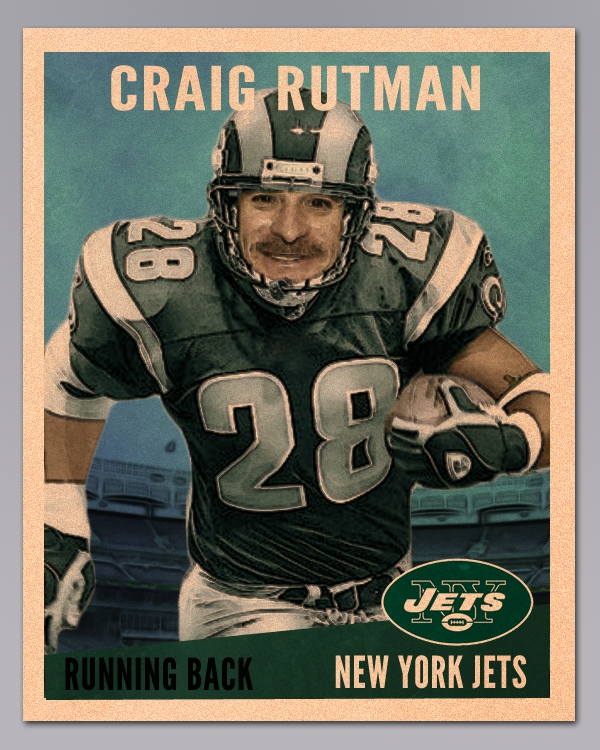 Craig Rutman, your Raleigh/ Cary/ Apex area Realtor still hasn't given up his dream to play for the New York Jets!