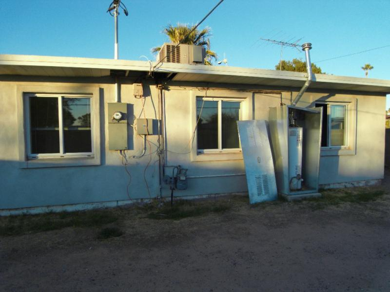 50's - 60's homes with exterior water heaters