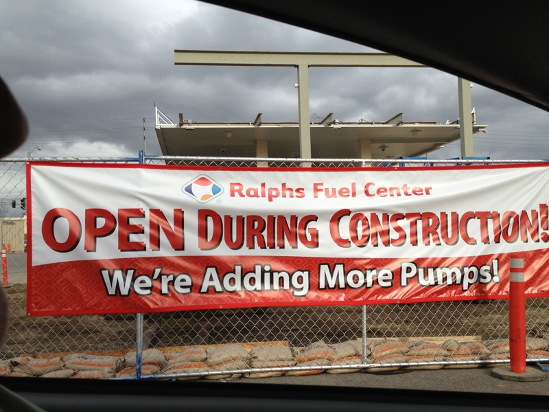 Ralphs Gas Station >> Ralphs Gas Station Gets More Pumps In Eastvale Ca