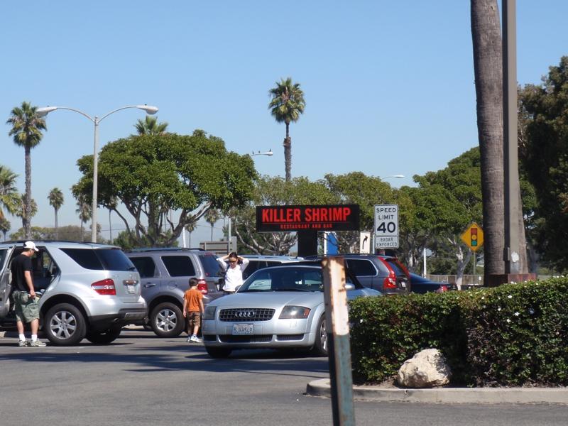 Killer Shrimp Restaurant and Bar in Marina Del Rey CA