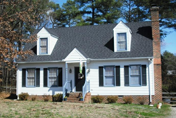 Bedroom Cape Cod Home For Sale In Mechanicsville VA Hanover County - Cape cod home