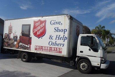 Salvation Army Pick Up West Palm Beach