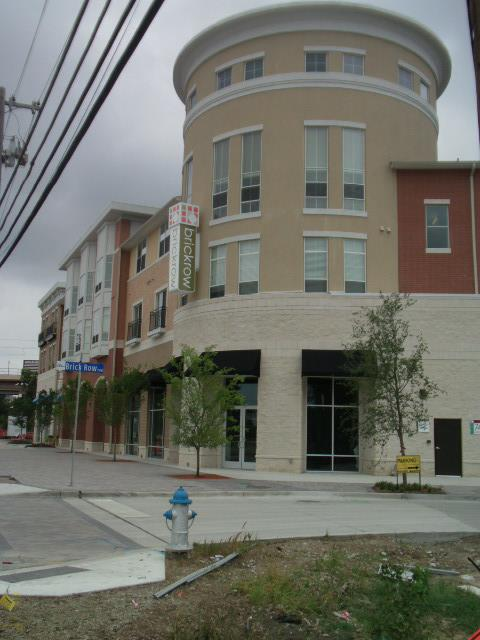 Brickrow Apartments Front