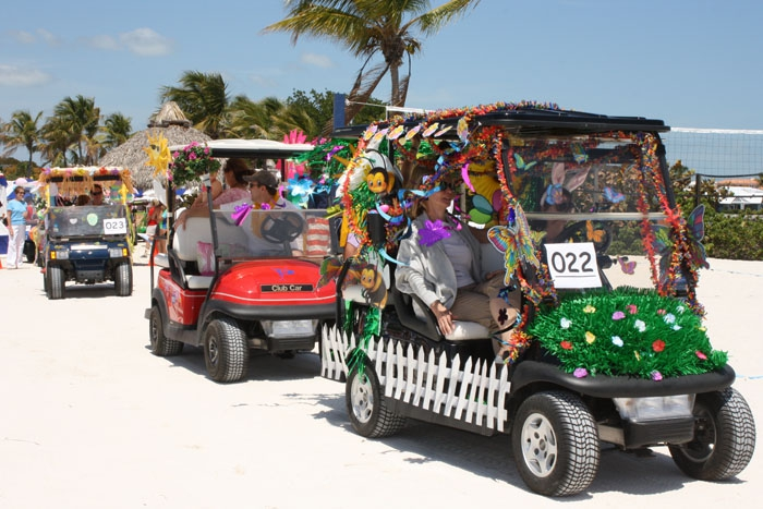 Easter At Ocean Reef Golf Cart Decorating Tips For The
