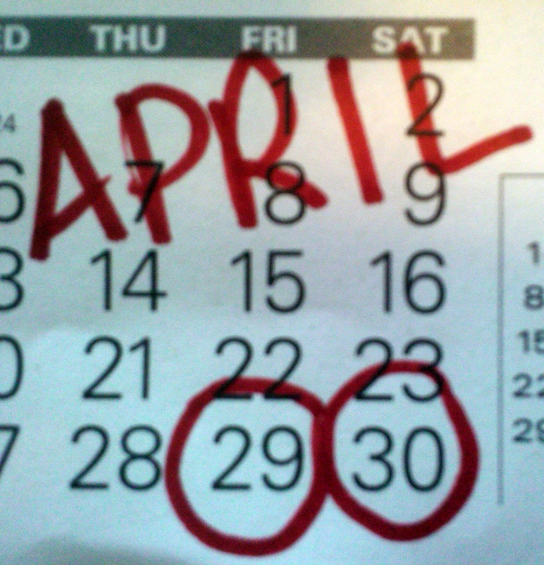 April Calendar Houston : Lake houston area weekend calendar april  susan