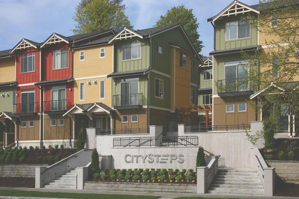 City Steps Townhouse Condo In New Tacoma For Sale