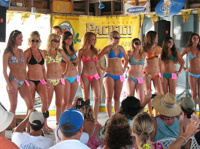 Florida Bikini Contest. Want to get away from it all?