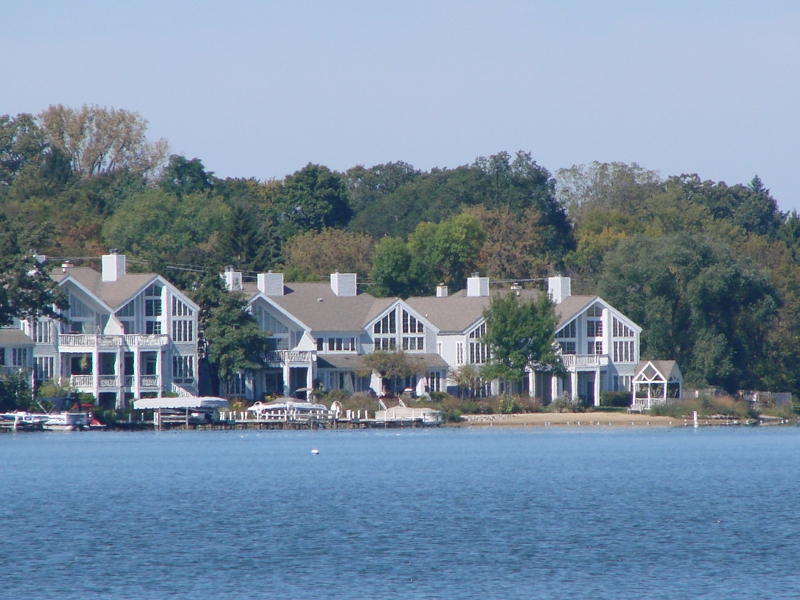 sandy point townhomes in lake zurich with views across lake zurich illinois il population data races