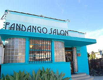 Fandango Salon in Silver Lake California