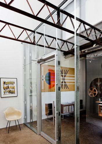 Room dividers read between the lines on houzz for Industrial room dividers