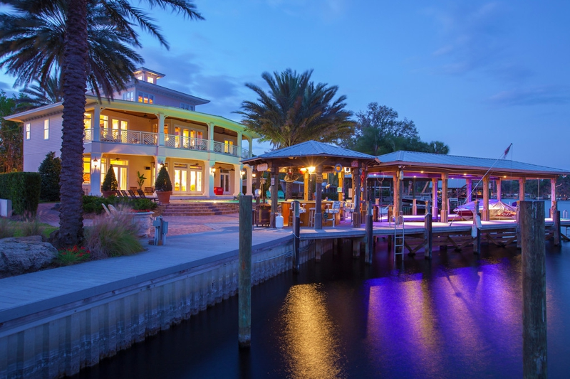 St. Johns River Showplace Listed by Joyce Marsh, Coastal & Luxury Real Estate